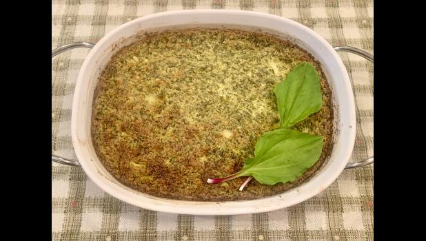 Move over spinach, try this delicious Plantain-Artichoke Dip (photo credit: Ann Hines)