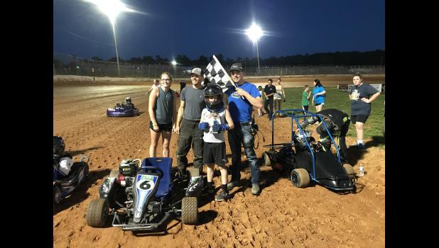 Race Kart Winner Chase Barry