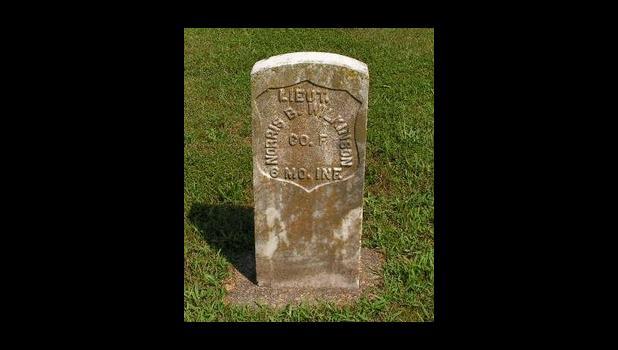 Captain Norris Wilkinson Headstone Willow Springs City Cemetery