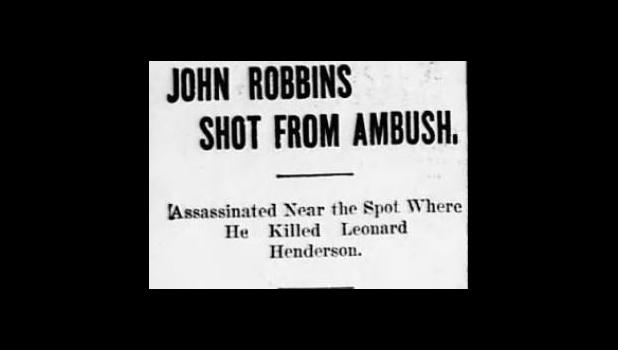 Headline from the St. Louis Republic August 15, 1900