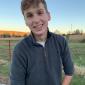 Jackson Bailey, winner of $3,500 the Megan K. Spence Memorial Tuition Scholarship